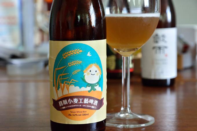 北台湾ビール喜願小麥工藝啤酒