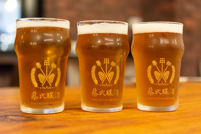 蔡氏釀酒 tsai's actual brewing