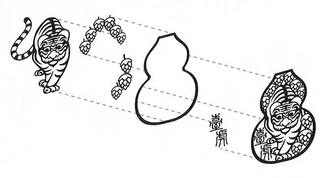 臺虎精釀のロゴ